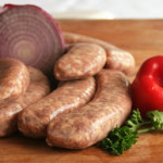 sausage - beer and onion brat