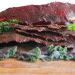 bourbon beef jerky image