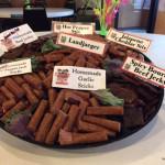 sausage smoked - sampler platter