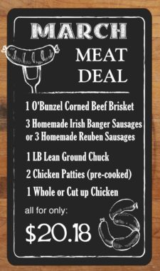 MEAT DEAL - March - NO Layers